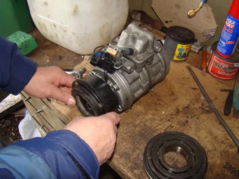Ремонт компрессора кондиционера автомобиля 16